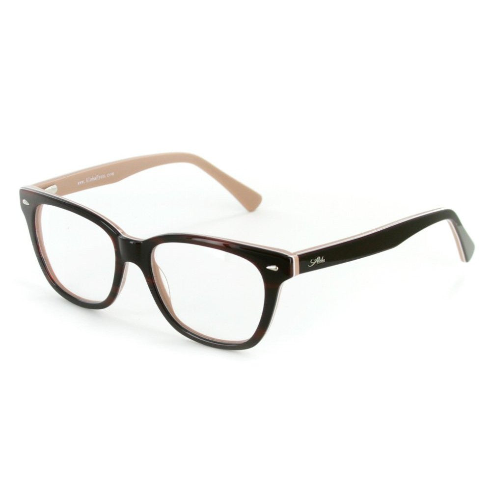 """Vesuvius"" Optical-Quality RX-Able Wayfarer Frames (51mm x 17mm x 145mm) for Stylish Men and Women - Aloha Eyes - 2"