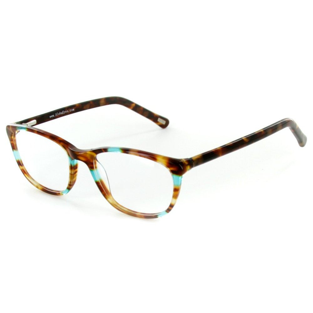 """Matterhorn"" Optical-Quality RX-Able Wayfarer Frames 56mm x 18mm x 135mm - Aloha Eyes - 3"