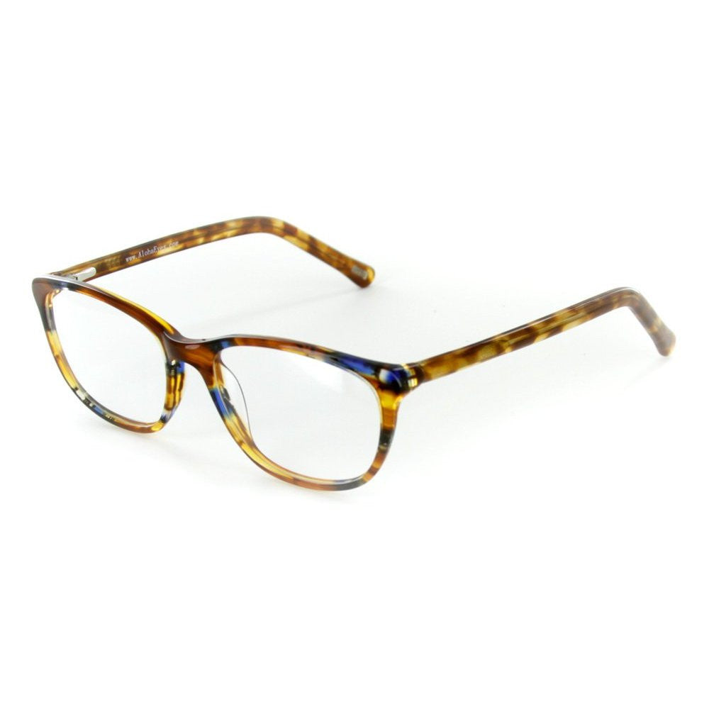 """Matterhorn"" Optical-Quality RX-Able Wayfarer Frames 56mm x 18mm x 135mm - Aloha Eyes - 2"