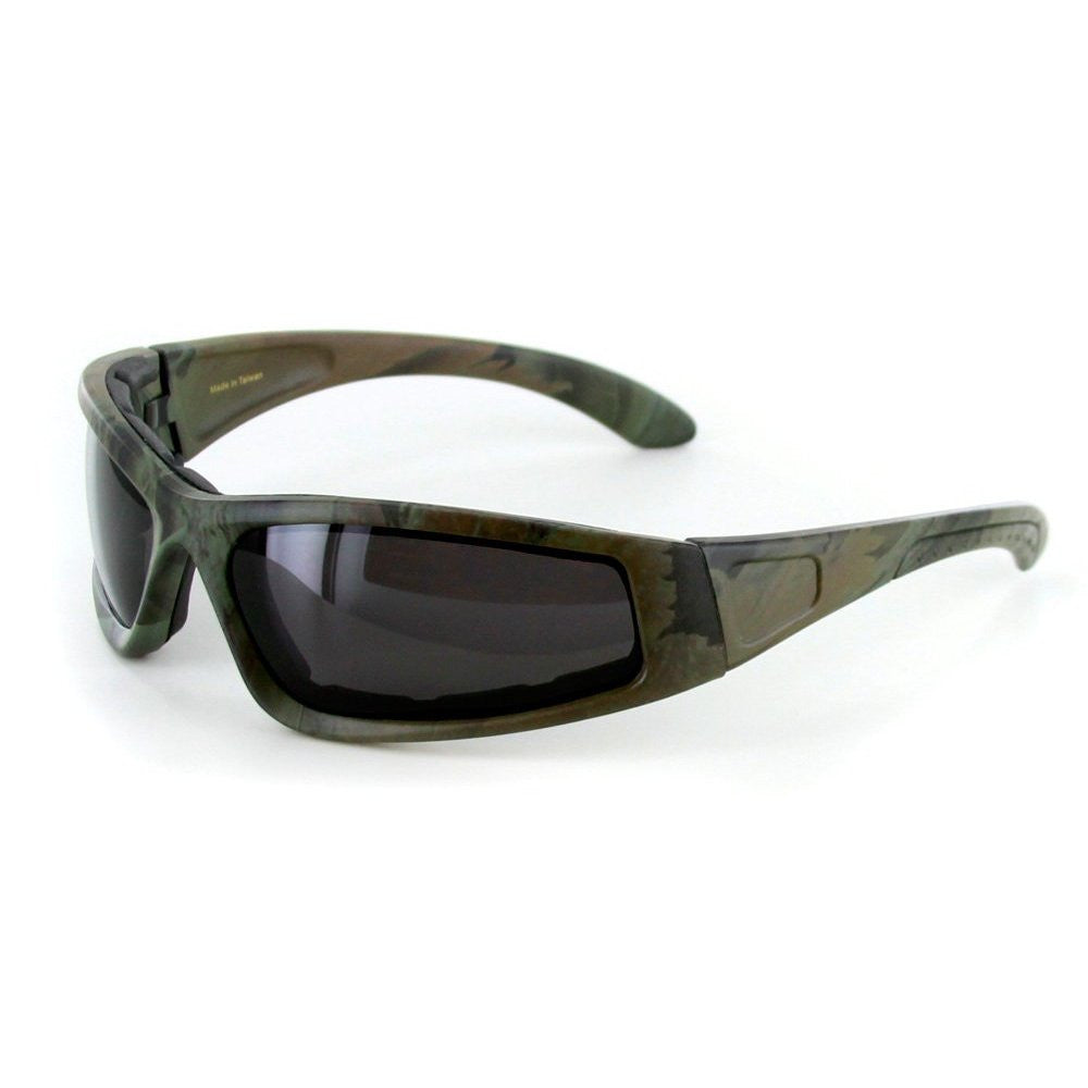 """Camo Spex"" Wrap-Around Polarized Camouflage Sports Goggles for Active Men and Women - Aloha Eyes - 2"