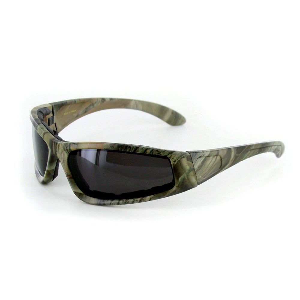 """Camo Spex"" Wrap-Around Polarized Camouflage Sports Goggles for Active Men and Women - Aloha Eyes - 3"