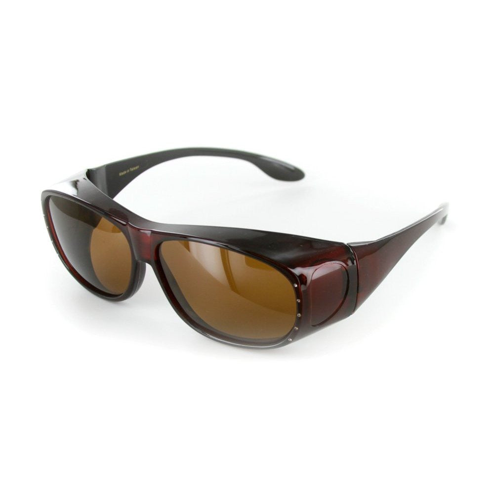 """Rhinestone Hideaways"" Over-Prescription Polarized Sunglasses for Stylish Women - Aloha Eyes - 3"