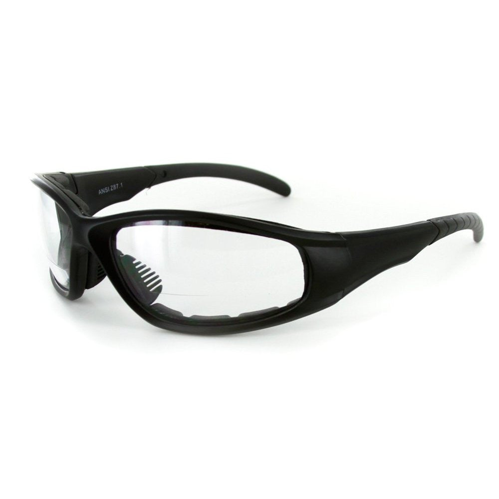"""Sportster"" Bifocal Reading Sunglasses / Safety Glasses with Padded Interior for Men and Women - Aloha Eyes - 3"