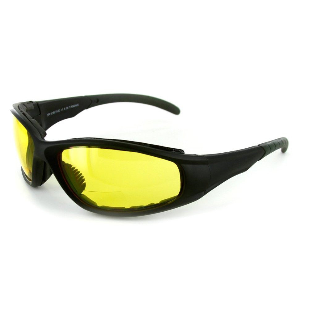 """Sportster"" Bifocal Reading Sunglasses / Safety Glasses with Padded Interior for Men and Women - Aloha Eyes - 2"