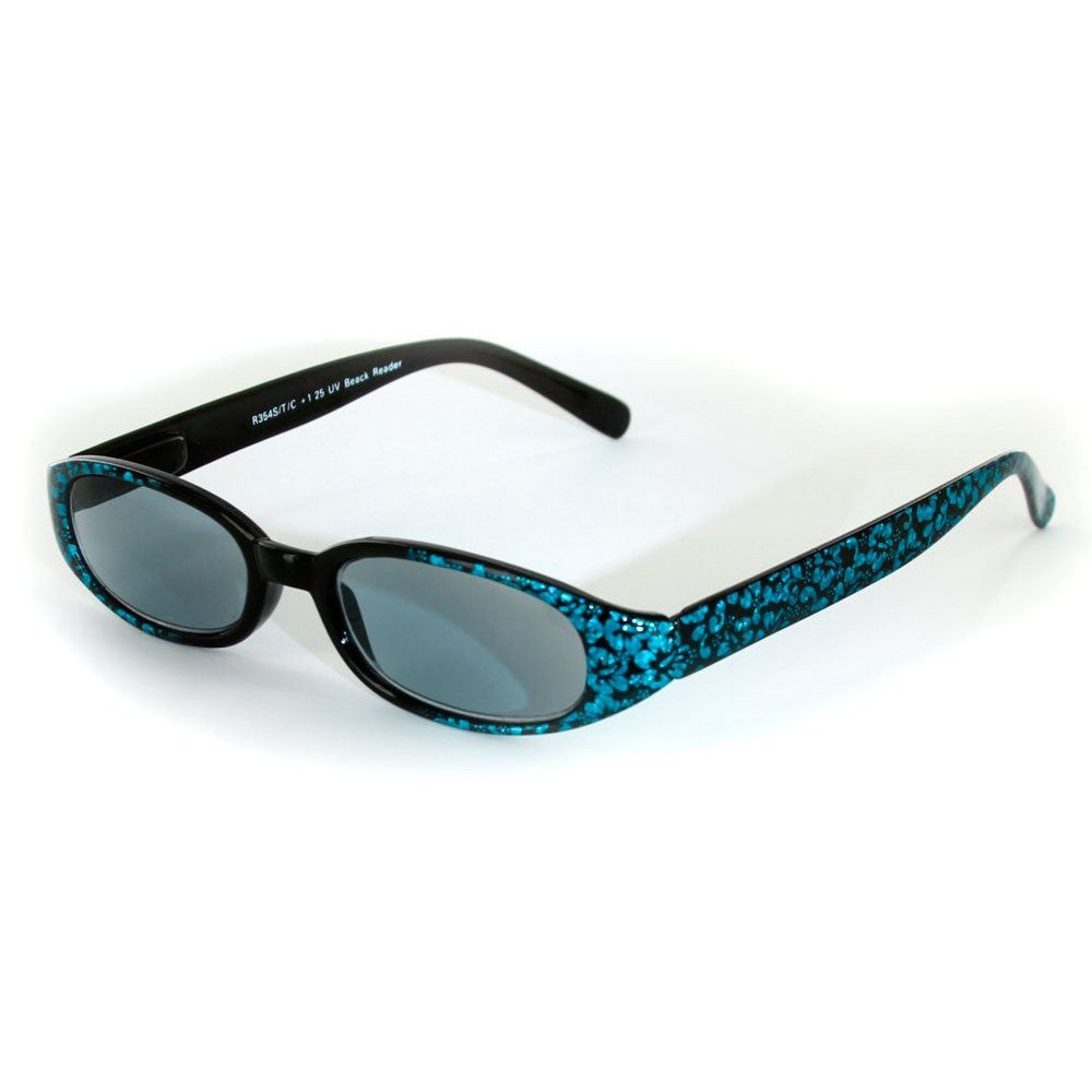 """Sun Reflections"" Full-Lens (Non Bifocal) Reading Sunglasses - Light Tint - Aloha Eyes - 3"