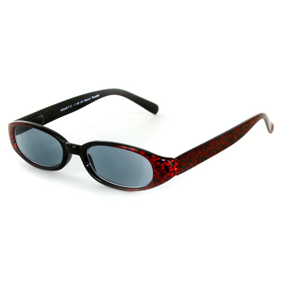 """Sun Reflections"" Full-Lens (Non Bifocal) Reading Sunglasses - Light Tint - Aloha Eyes - 2"