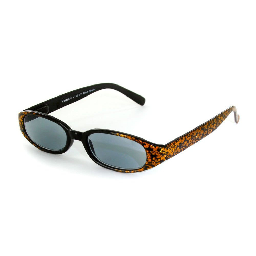 """Sun Reflections"" Full-Lens (Non Bifocal) Reading Sunglasses - Light Tint - Aloha Eyes - 5"