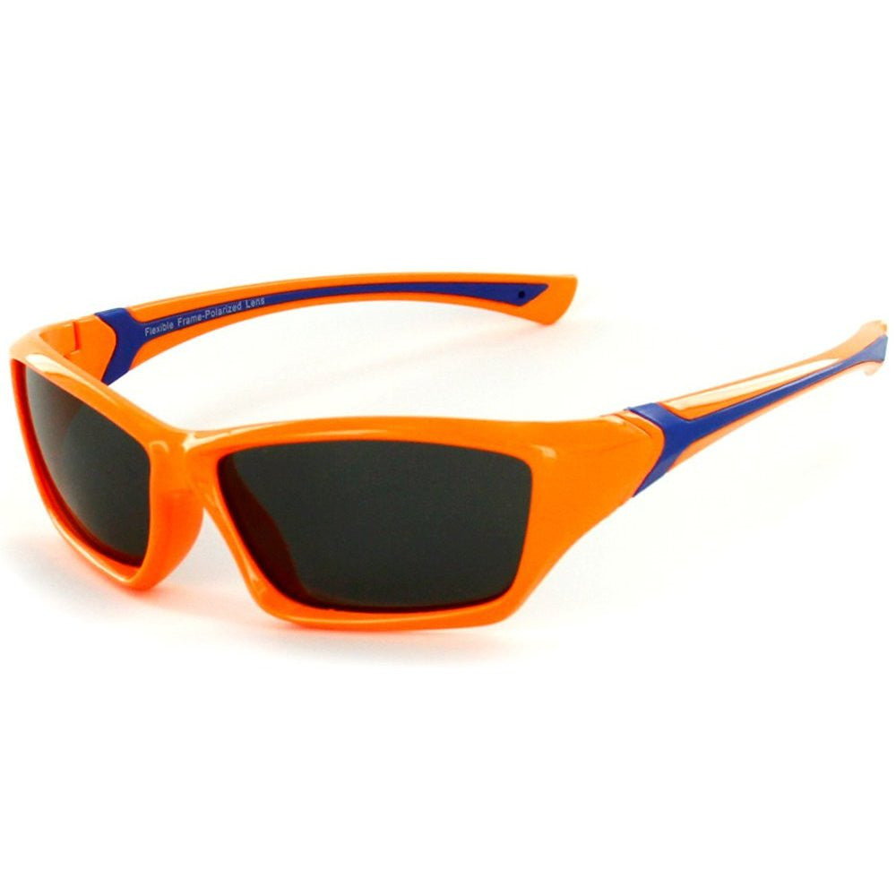 """Splash"" Polarized, 100% UV, Wrap Around Sunglasses for Boys and Girls from our Alha Kids Collection - Aloha Eyes - 4"