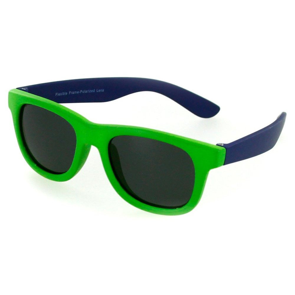 """Crayons"" Flexible Polarized Wayfarer Sunglasses in Neon Colors for Boys & Girls 100% UV - Aloha Eyes - 2"