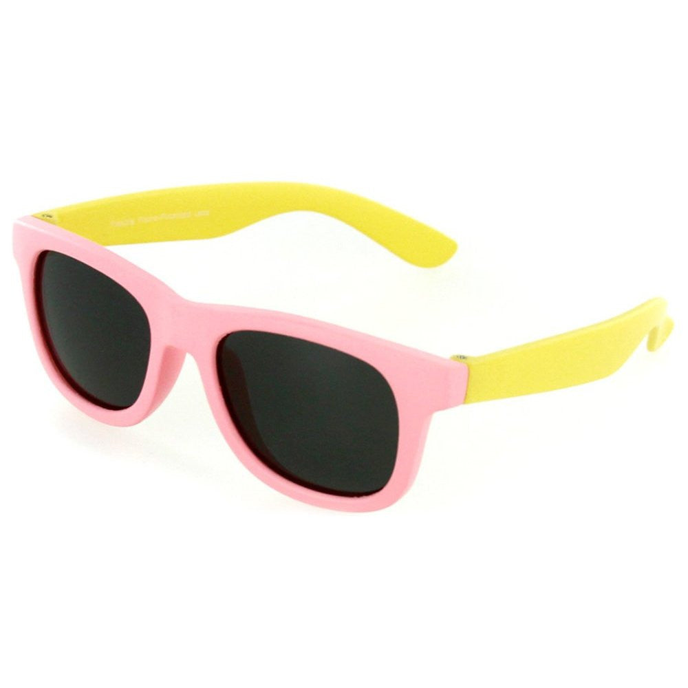 """Crayons"" Flexible Polarized Wayfarer Sunglasses in Neon Colors for Boys & Girls 100% UV - Aloha Eyes - 3"