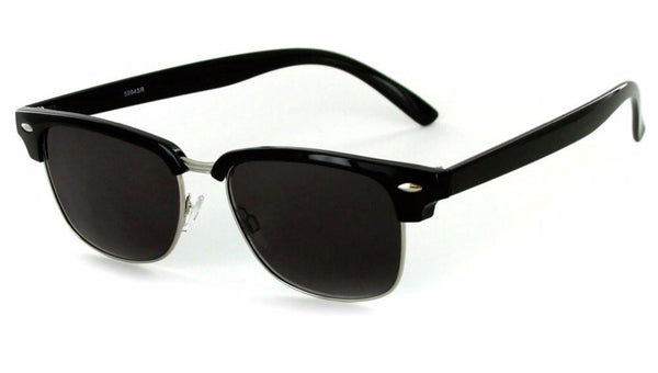 """The Club"" Clubmaster Full-Reading Sunglasses (Non-Bifocal) - 100% UV - Aloha Eyes - 1"
