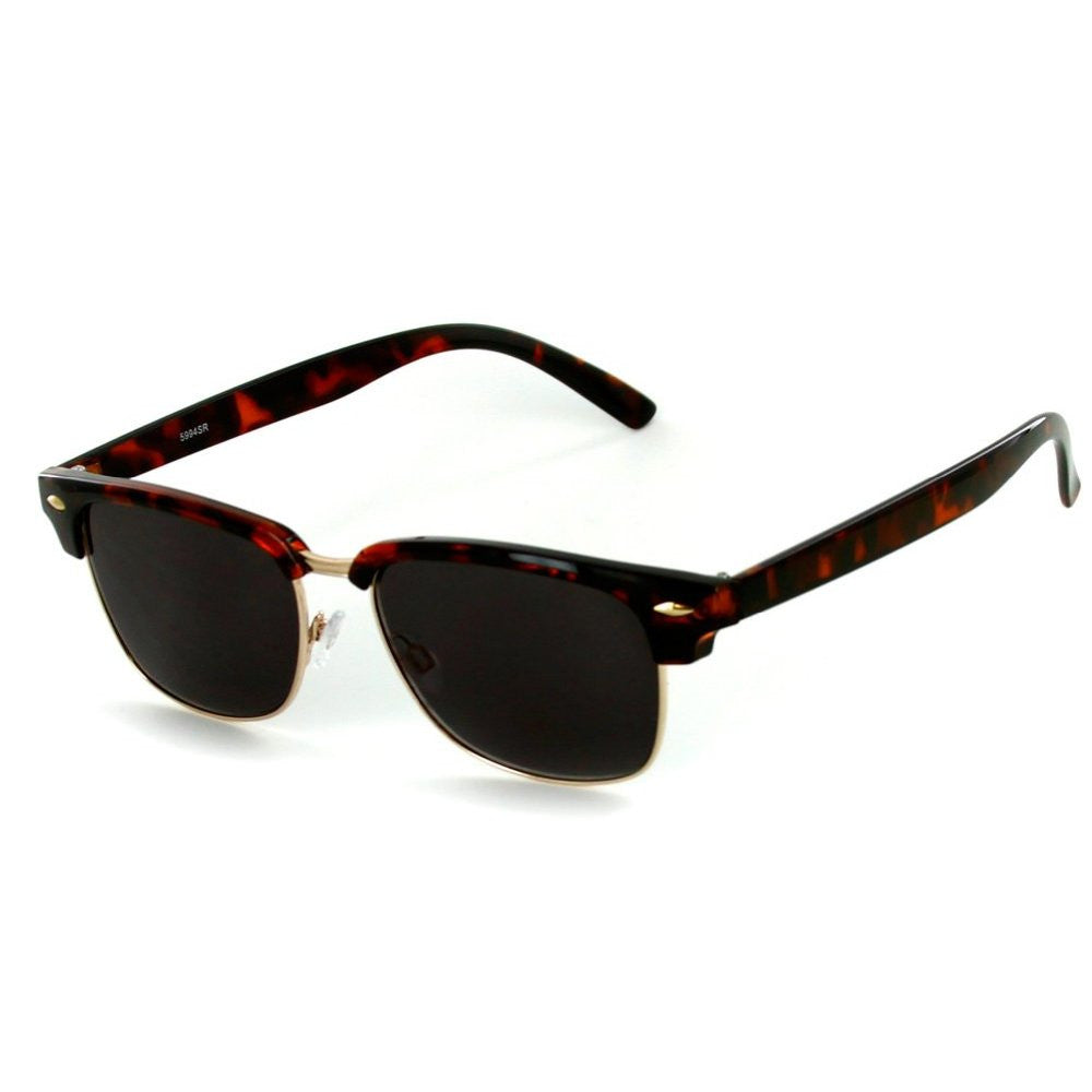 """The Club"" Clubmaster Full-Reading Sunglasses (Non-Bifocal) - 100% UV - Aloha Eyes - 2"
