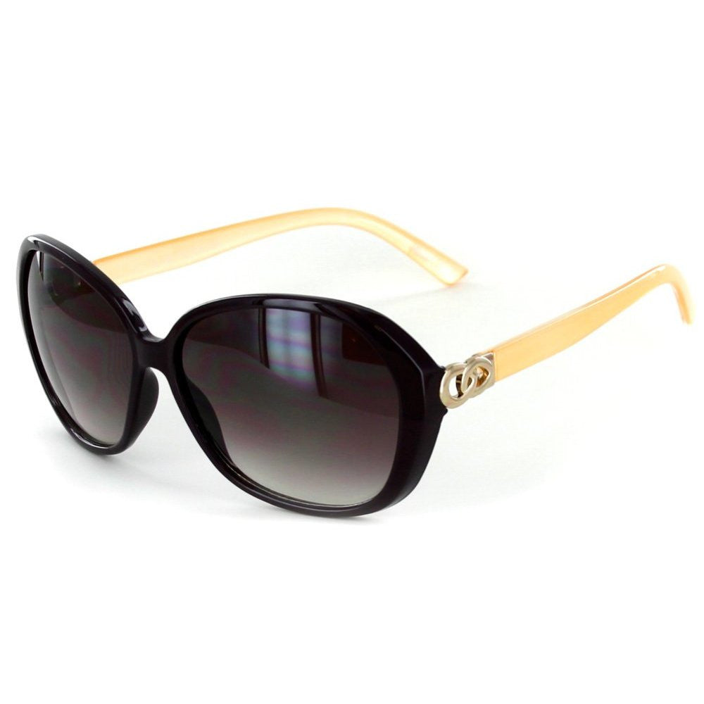 """Oceanside"" Fashion Oversized Sunglasses with Butterfly Shape for Stylish Women - Aloha Eyes - 4"