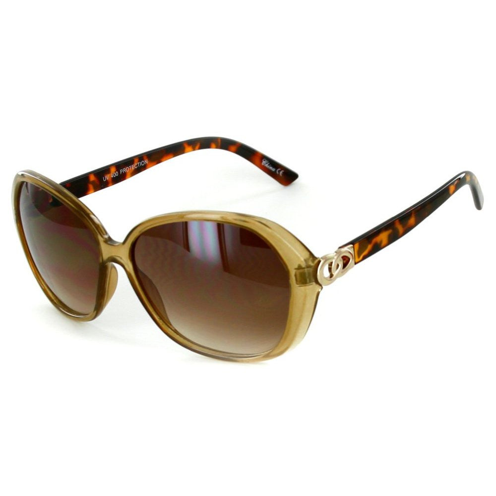 """Oceanside"" Fashion Oversized Sunglasses with Butterfly Shape for Stylish Women - Aloha Eyes - 3"