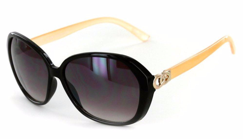 """Oceanside"" Fashion Oversized Sunglasses with Butterfly Shape for Stylish Women - Aloha Eyes - 1"
