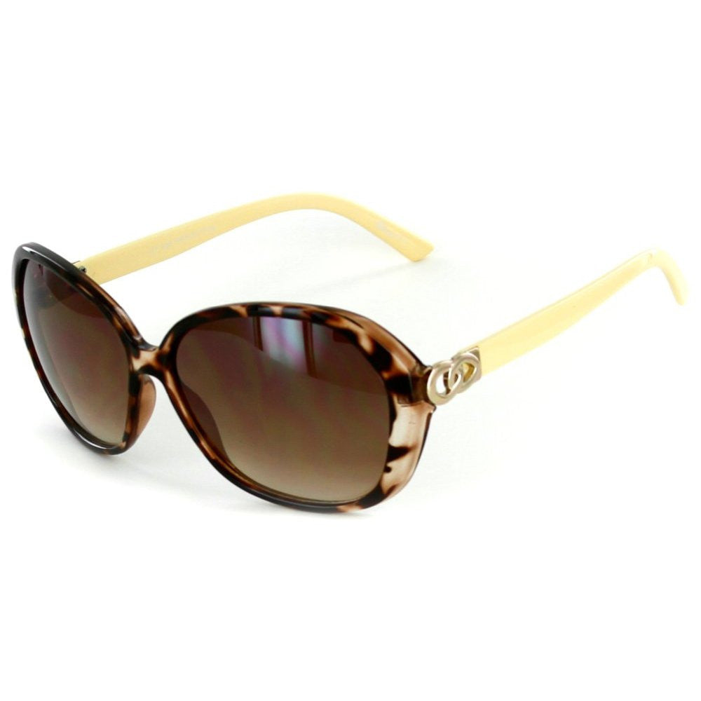 """Oceanside"" Fashion Oversized Sunglasses with Butterfly Shape for Stylish Women - Aloha Eyes - 5"