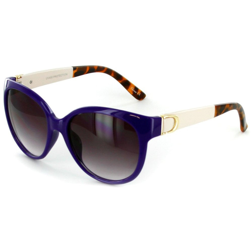 """Nautique"" Fashion Cateye Sunglasses with Butterfly Shape for Stylish Women - Aloha Eyes - 3"