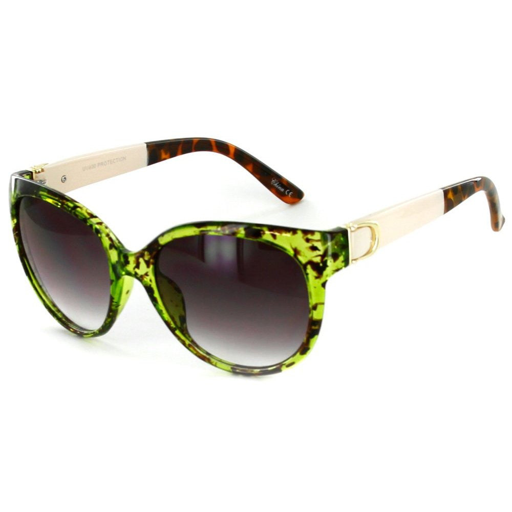 """Nautique"" Fashion Cateye Sunglasses with Butterfly Shape for Stylish Women - Aloha Eyes - 2"