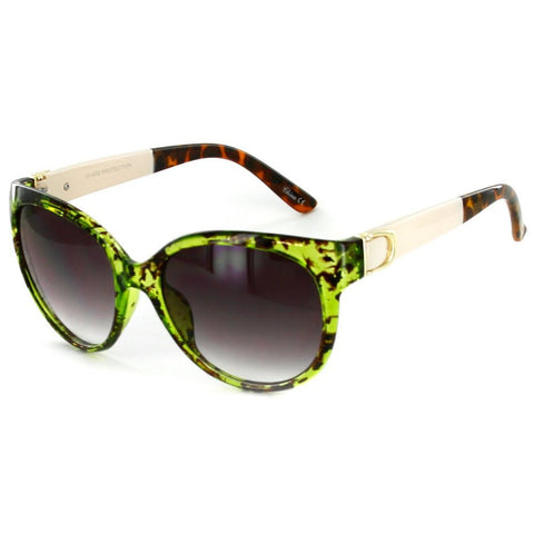 """Nautique"" Fashion Cateye Sunglasses with Butterfly Shape for Stylish Women - Aloha Eyes - 1"