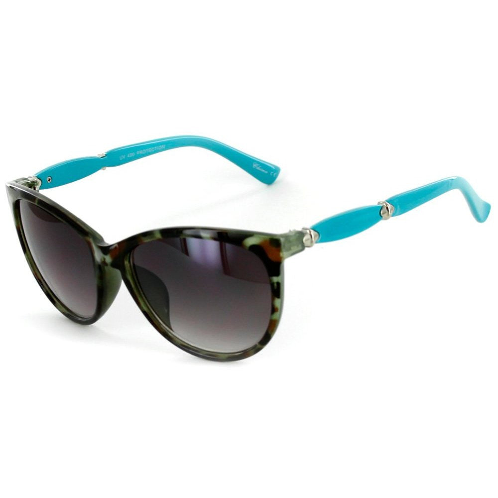 """Cocoa Beach"" Fashion Cateye Sunglasses with Butterfly Shape for Stylish Women - Aloha Eyes - 3"
