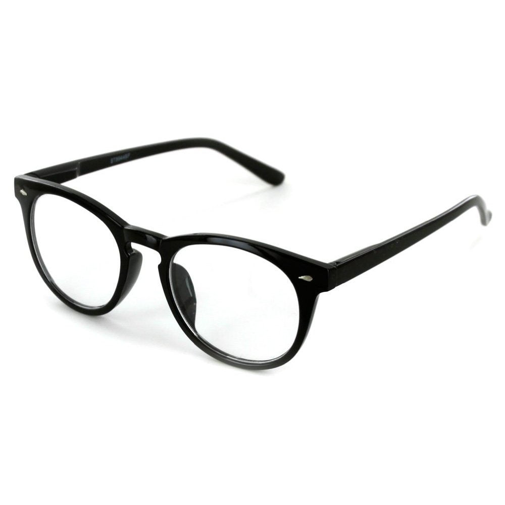 """Retrospective"" Round Wayfarer Reading Glasses with Invisible Blended Bifocal - Aloha Eyes - 2"