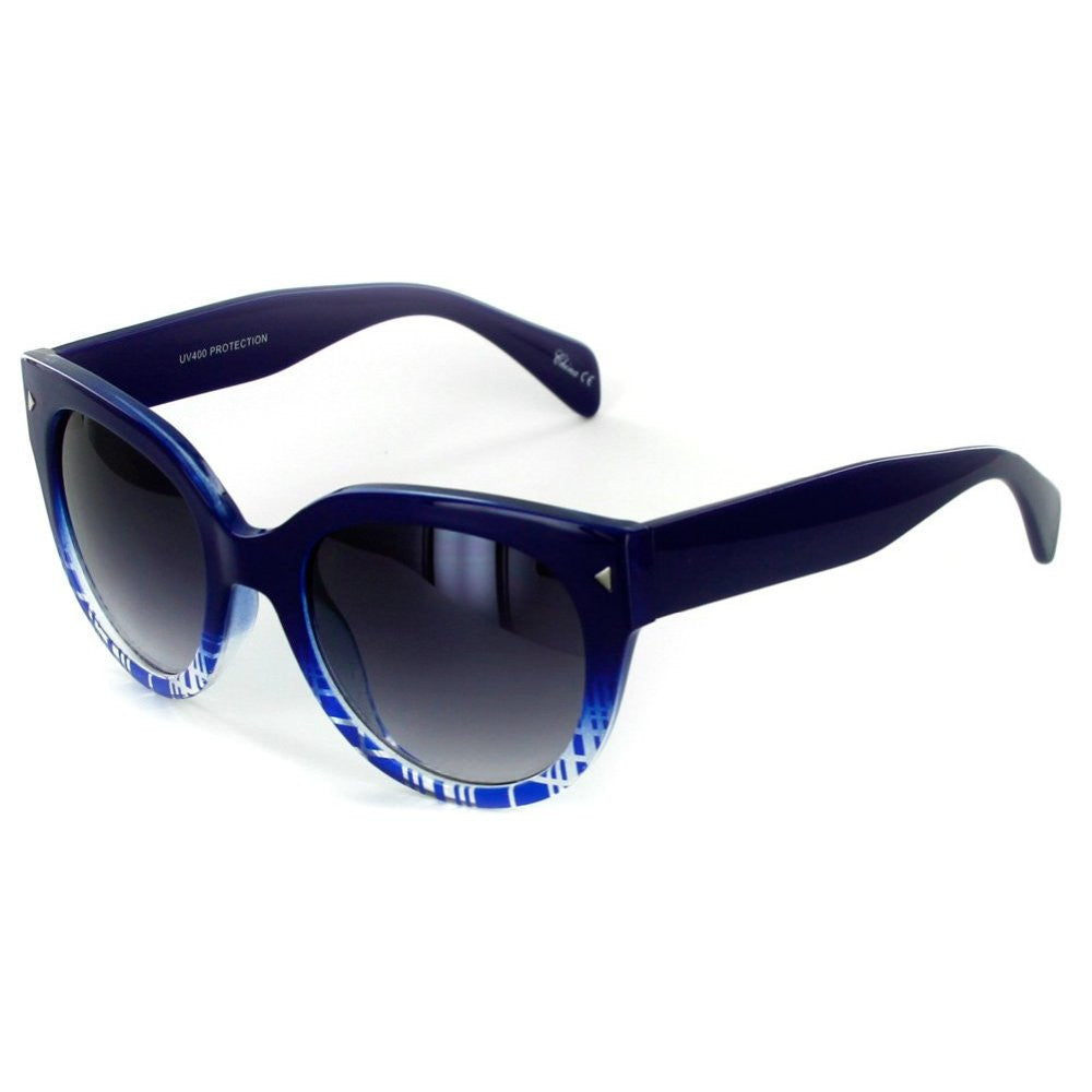 """Edgewater"" Wayfarer Cateye Sunglasses with Patterned Frames for Youthful and Stylish Women - Aloha Eyes - 3"
