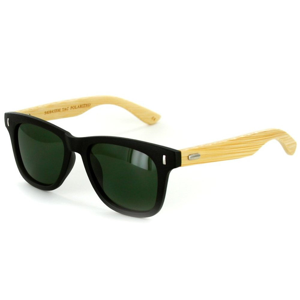 """Zen Sun HDP""  Polarized Wayfarer Sunglasses with High Definition Lens, Unisex - Aloha Eyes - 1"