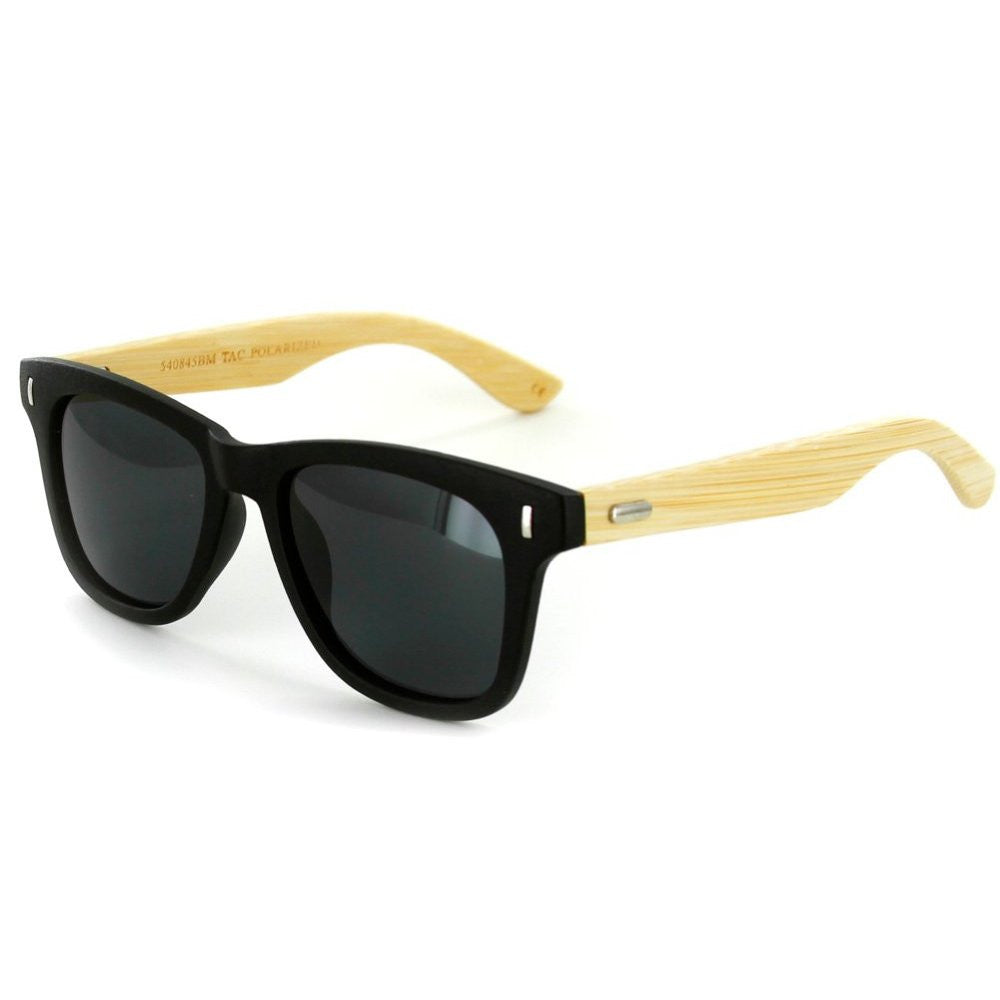 """Zen Sun HDP""  Polarized Wayfarer Sunglasses with High Definition Lens, Unisex - Aloha Eyes - 2"