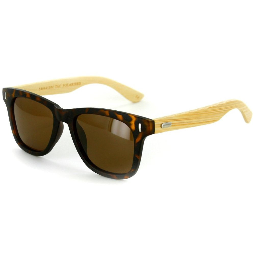 """Zen Sun HDP""  Polarized Wayfarer Sunglasses with High Definition Lens, Unisex - Aloha Eyes - 3"