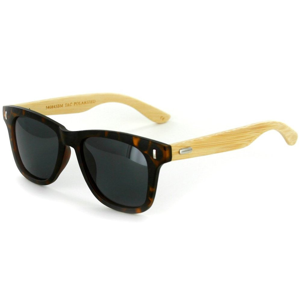 """Zen Sun HDP""  Polarized Wayfarer Sunglasses with High Definition Lens, Unisex - Aloha Eyes - 4"