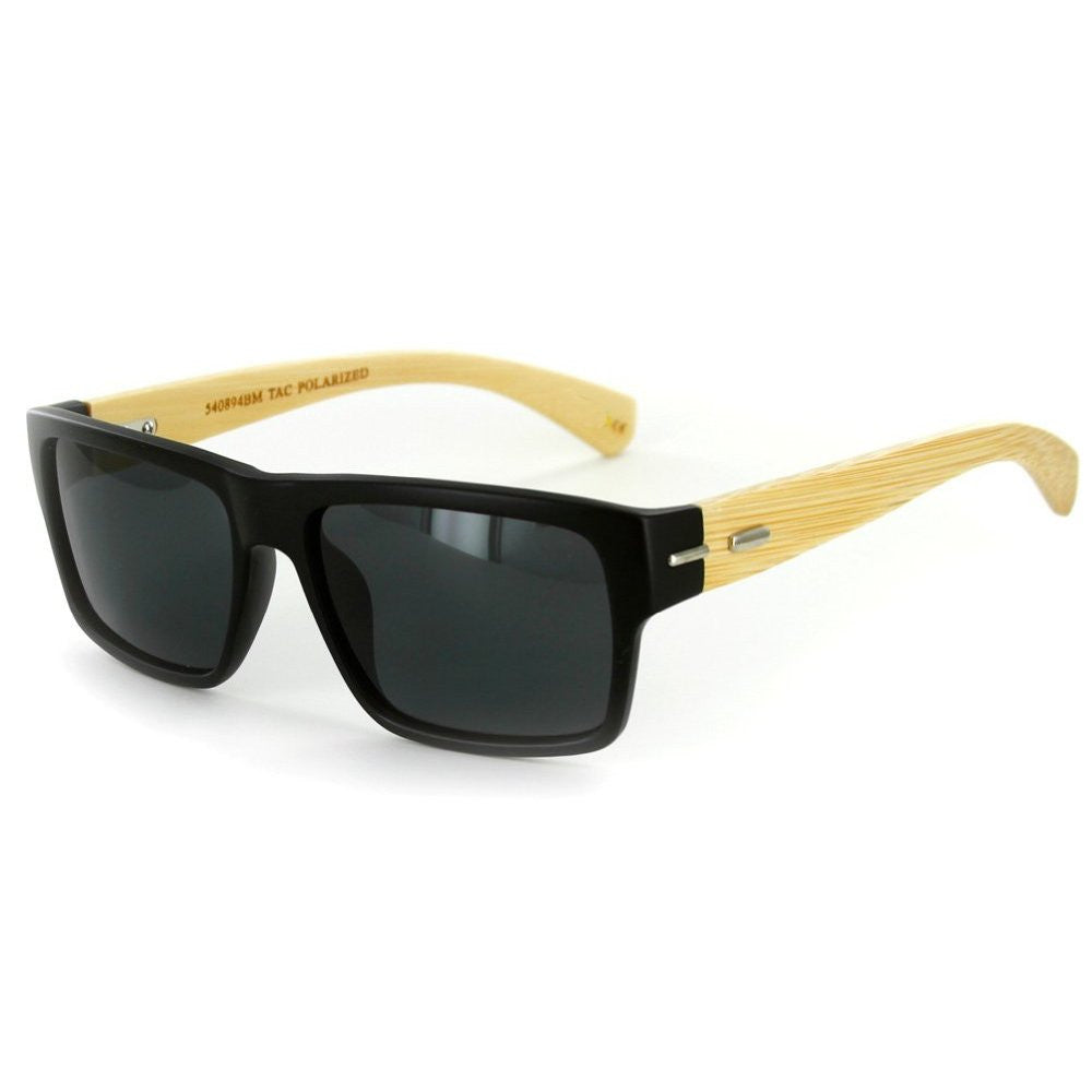 """Zen Sun BP"" Wayfarer Sunglasses, TAC Polarized High Definition Lens, Unisex - Aloha Eyes - 1"