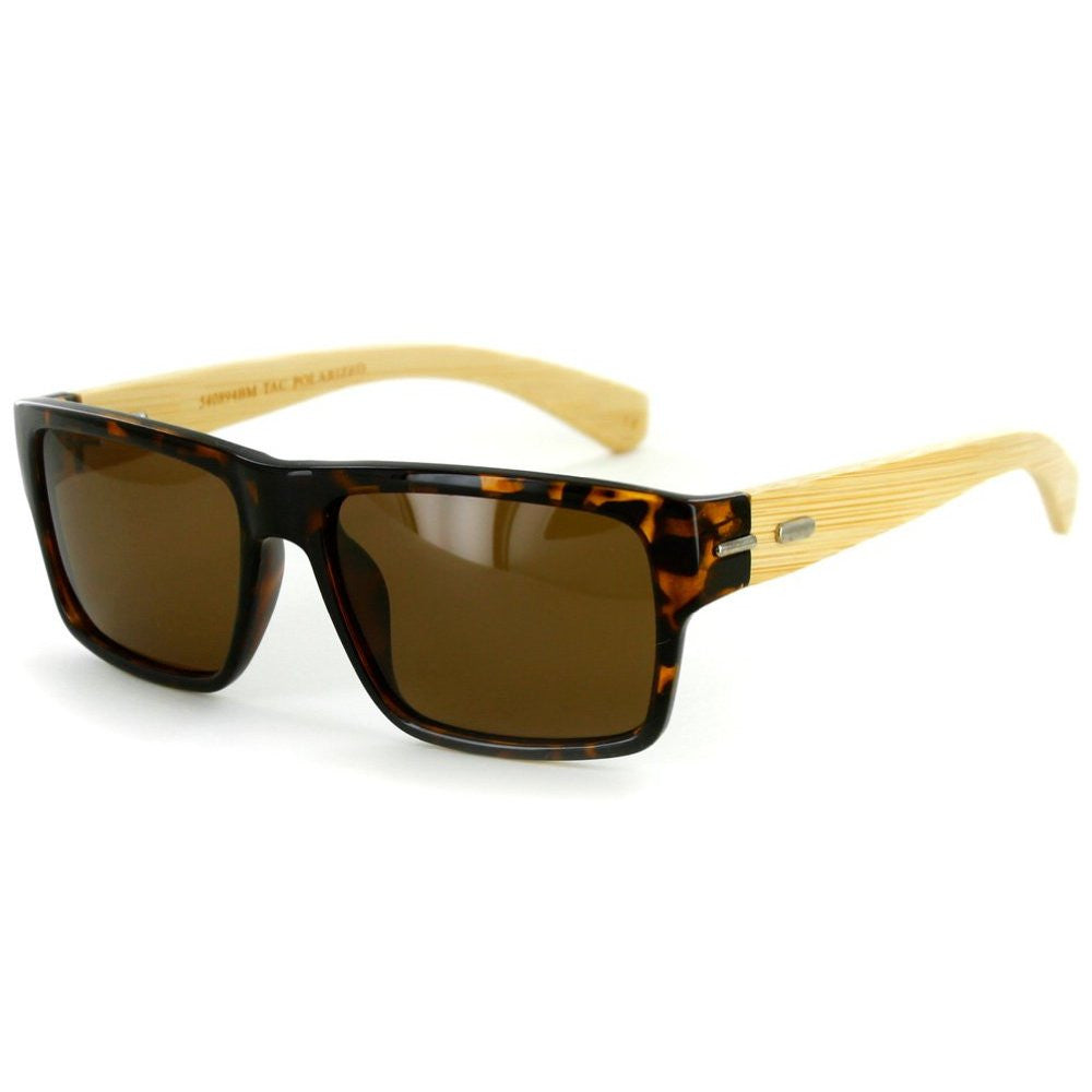 """Zen Sun BP"" Wayfarer Sunglasses, TAC Polarized High Definition Lens, Unisex - Aloha Eyes - 3"
