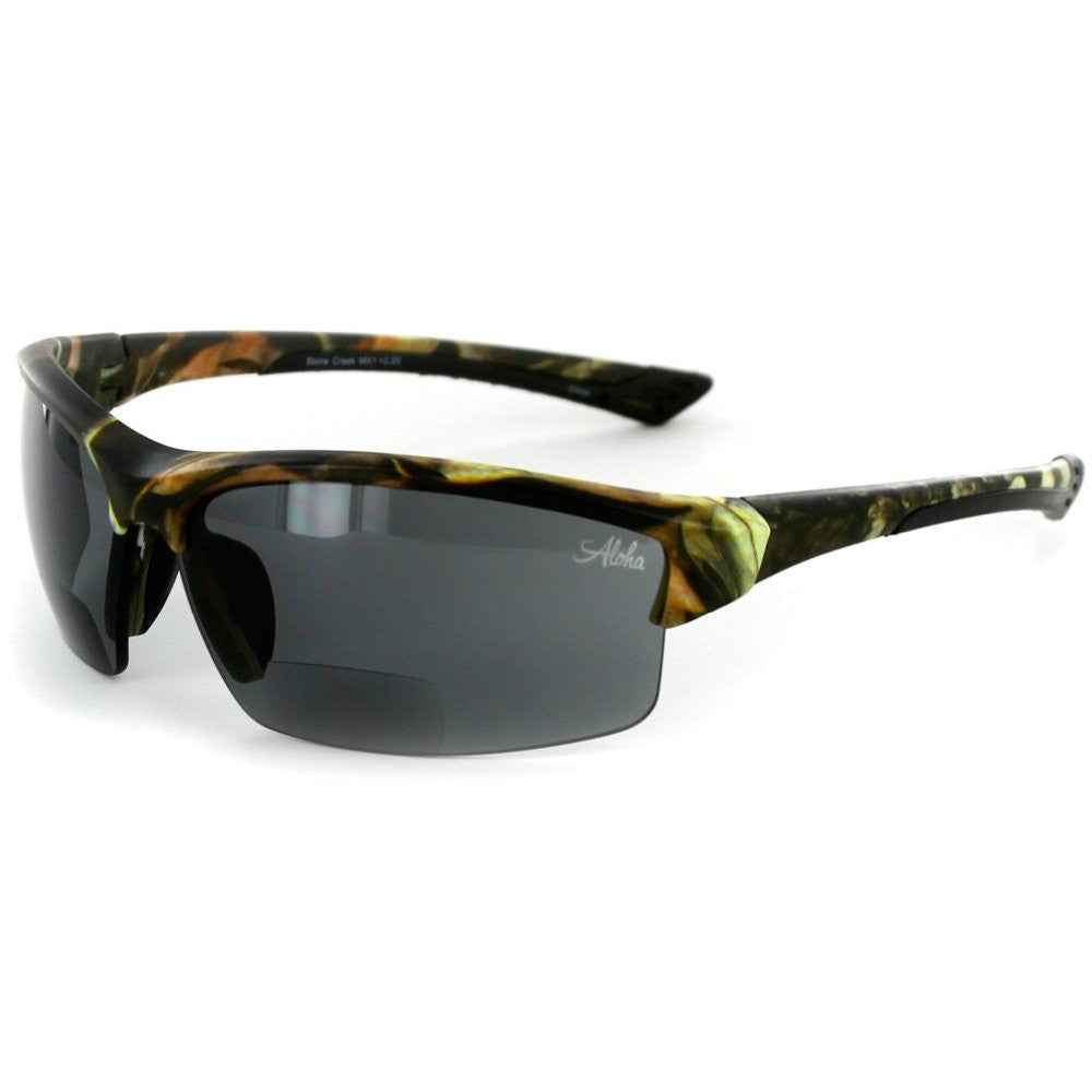 ‰ÛÏStone Creekå¨ MX1‰۝ Men‰۪s Wrap-Around Bifocal Reading Sunglasses, Our Best-Selling Item of All Time - Aloha Eyes - 5