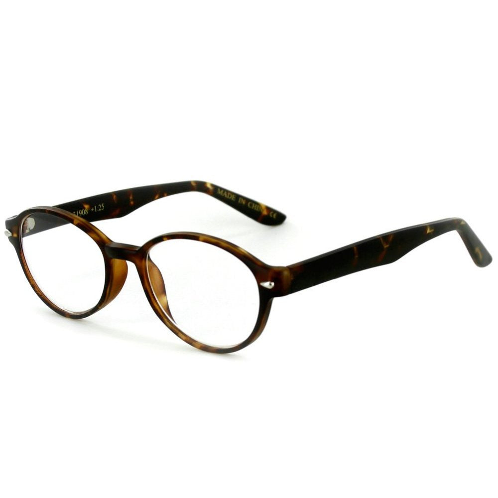 """Islander RX05"" Round Wayfarer Reading Glasses in RX-Able Frames for Women - Aloha Eyes - 4"