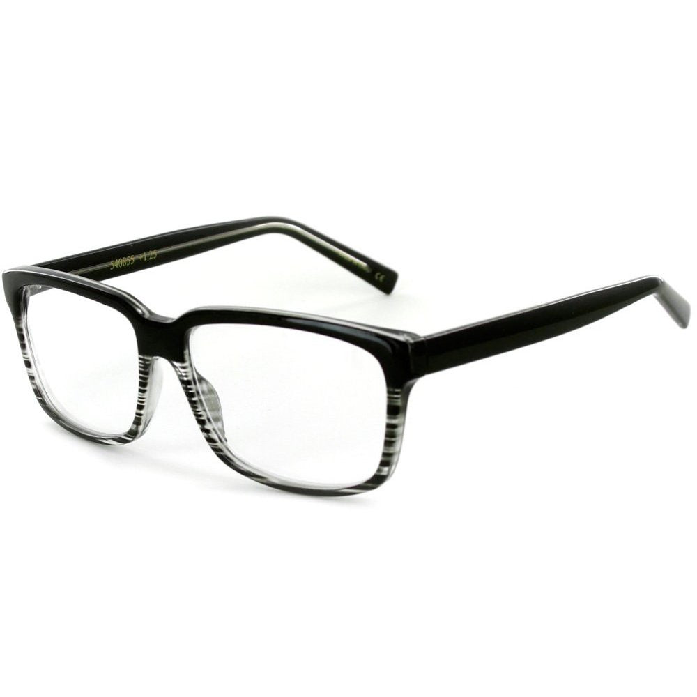 """Islander RX06"" Wayfarer Reading Glasses in RX-Able Frames for Men and Women - Aloha Eyes - 2"