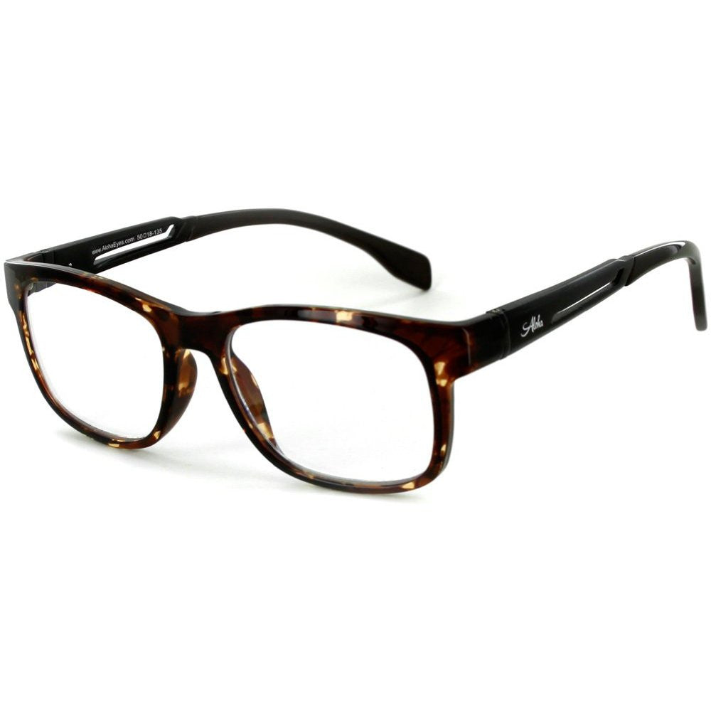 """Alumni RX06"" Optical-Quality Reading Glasses with RX-Able Aluminum Frames for Men - 50mm x 18mm x 135mm - Aloha Eyes - 2"