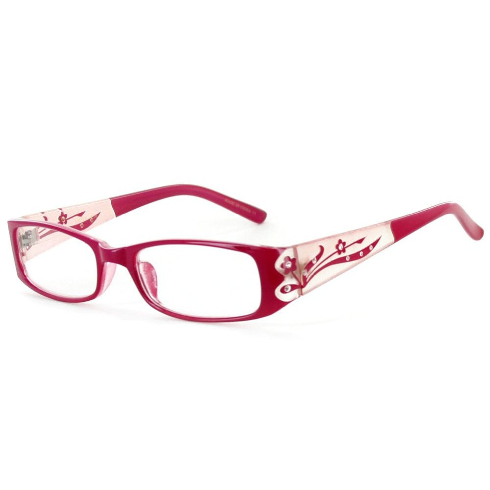 """Tiffany's Garden"" Designer Floral Reading Glasses - Aloha Eyes - 4"