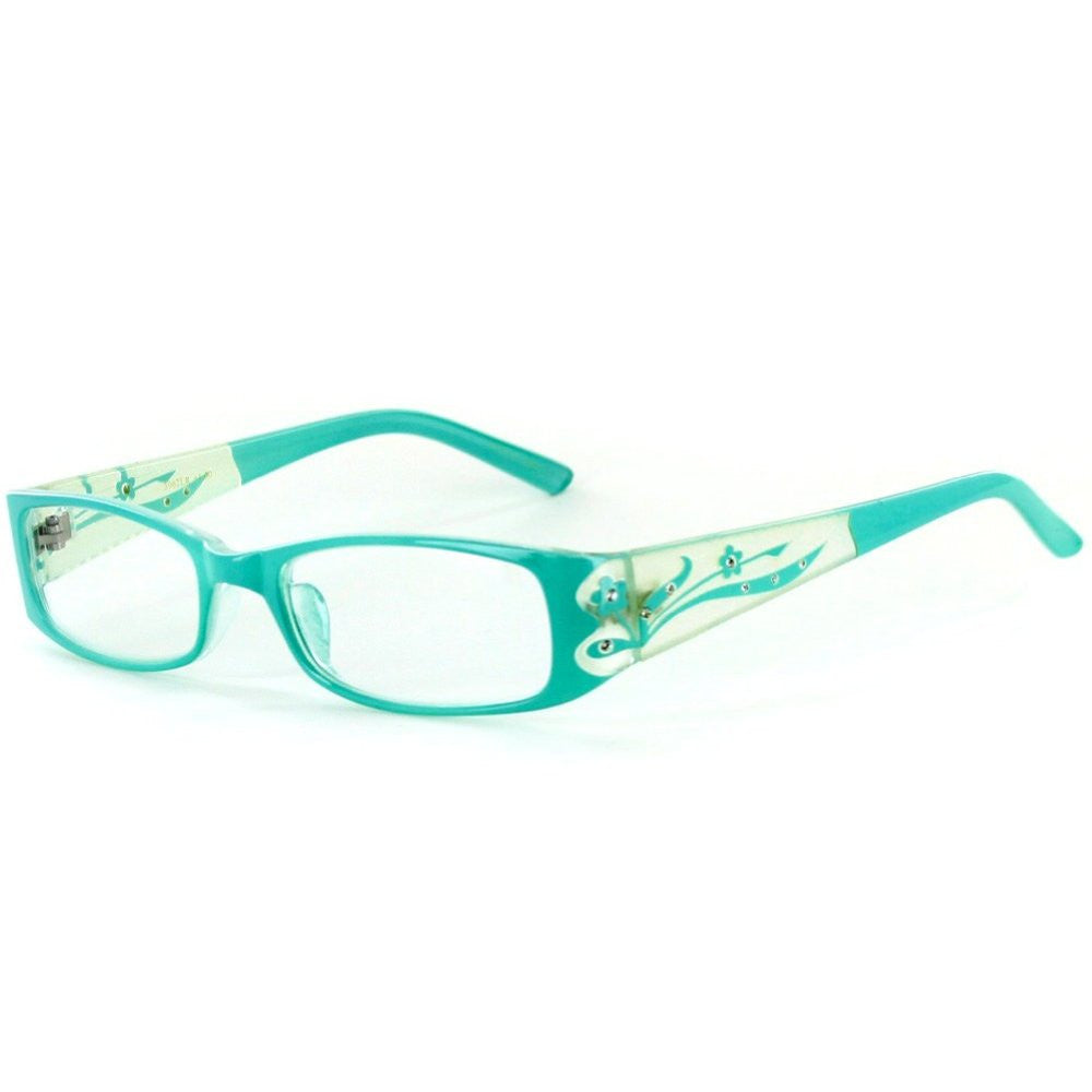 """Tiffany's Garden"" Designer Floral Reading Glasses - Aloha Eyes - 2"