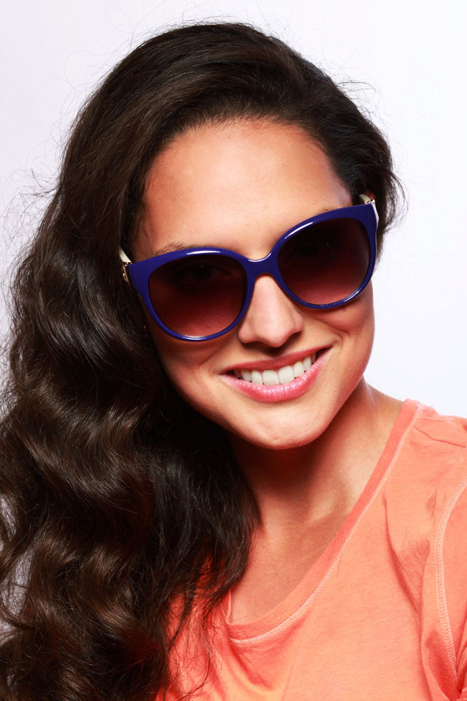 """Nautique"" Fashion Cateye Sunglasses with Butterfly Shape for Stylish Women - Aloha Eyes - 6"
