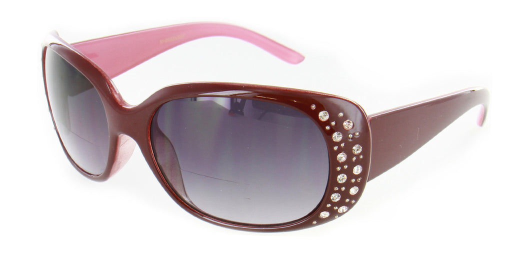 """Oceana"" Fashion Bifocal Sunglasses with Austrian Crystals for Women - Aloha Eyes - 8"