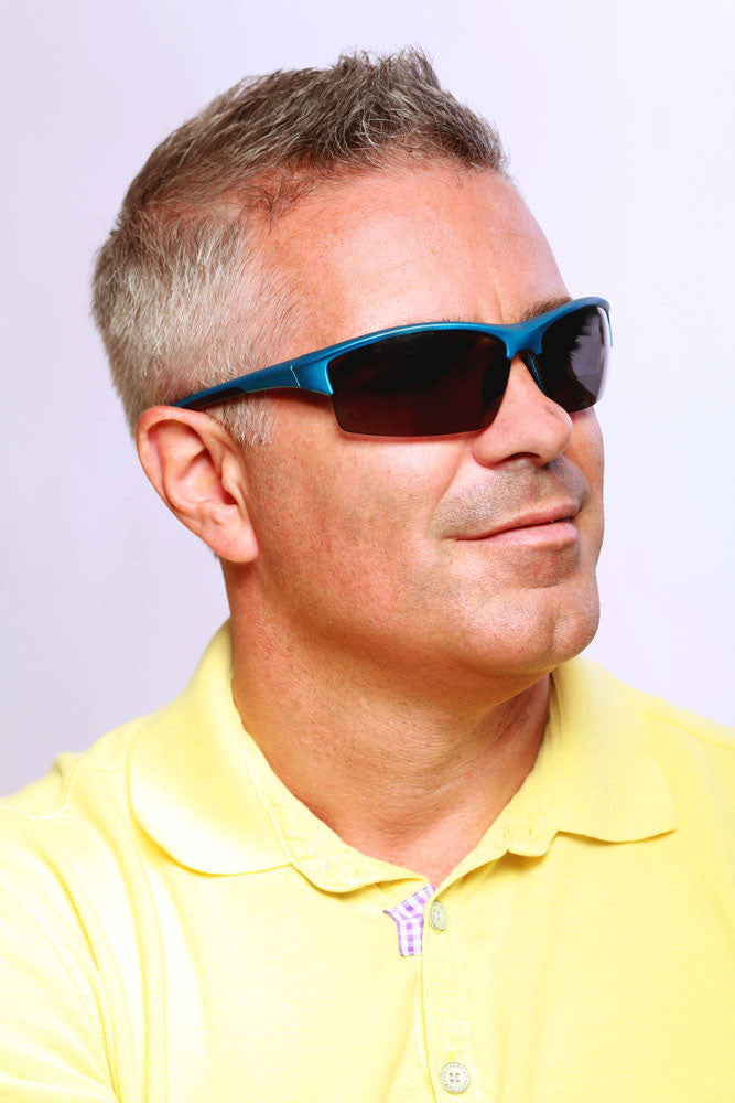 """Stone Creek® MX1"" Men's Wrap-Around Bifocal Reading Sunglasses, Our Best-Selling Item of All Time - Aloha Eyes - 6"