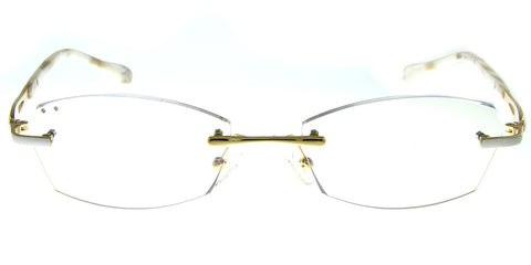 Aloha Eyewear Tek Spex 3002 Women's Progressive No-Line Rimless Computer Reading Glasses with Blue Light Blocking Lens