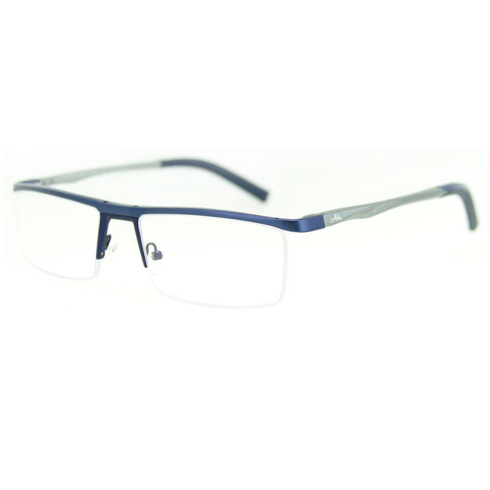 """Alumni RX03"" Optical-Quality Reading Glasses with RX-Able Aluminum Frames for Men - 54mm x 18mm x 135mm - Aloha Eyes - 2"