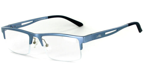 """Alumni RX01"" RX-Able Optical-Quality Aluminum Reading Glasses"