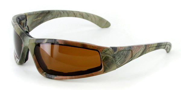 """Camo Spex"" Wrap-Around Polarized Goggles"