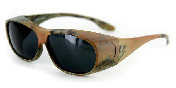 """Camo Spex Medium Hideaways"" Over-Prescription Polarized Sunglasses"