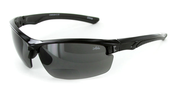 """Creekside"" Polarized Bifocal Wrap-Around Sunglasses"