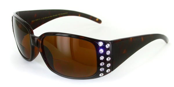 """Crystal Sun"" Bifocal Reading Sunglasses"