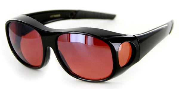 """Hideaways Large"" Over-Prescription Sunglasses w/ Blue Light Blocker"