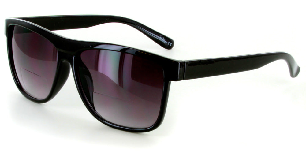 """Hipsters"" Extra Dark Bifocal Sunglasses"